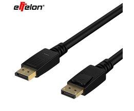 Effelon HD Displayport Video Audio Cable Man Mannelijke 1.8 m 1080 P DP Kabel voor HDTV Projector Display effelon