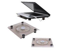 Hoge Qualtiy 12 inch USB Notebook Cooler Cooling laptop koeler Pad 1 Grote Fans voor Laptop PC Base Computer Cooling Pad RV77