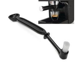 22 cm Koffiezetapparaat Borstel Espresso Machine Groep Hoofd Keuken Nylon Borstel Varkenshaar Lepel Huishoudapparatuur Onderdelen YKPuii