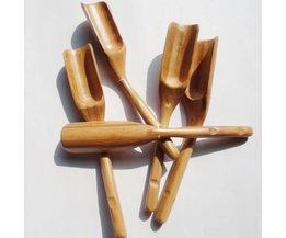 Bamboe Thee Lepel Koffie Scoop met lange handvat HOUSEEN