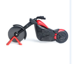 Motorfiets Pizza Cutter Mes Gereedschap Rvs Pizza Wiel Snijder Motorbike Roller Pizza Chopper Slicer Schil Messen bouti1583