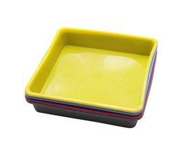 Gemakkelijk Reinigen Siliconen Brood Toast Mold Vierkante Cake Pan Hoge Temperatuur Weerstand Keuken Bakvorm Bakvormen IHAON