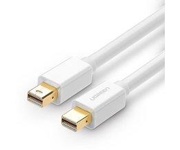 Mini displayport-naar Mini DP Man Mannelijke Adapter Kabel voor iMac Mac pro Air Ondersteuning 2560*1600 Audio en Video synchronisatie MyXL