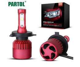 G9  H4 Auto LED Koplampen 80 W 9600LM XHP50 Chips Alle in een LED H7 H11 Koplamp Mistlamp 6500 K voor Toyota Honda Partol