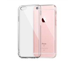 Voor Apple iPhone 6 6 s Plus Case Clear TPU Cover Slim Crystal Siliconen beschermhoes Transparante Uitgerust Zachte harde gevallen IQD