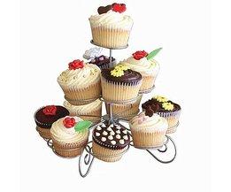 3 Tier Draad Cupcake Stand Muffin Houder Toren Cakes Decorating Supplies Versierd Cuocakes Bakken Keuken Party Gereedschap WULEKUE