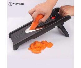 Multifunctionele V-Slicer Mandoline Blades Professionele Snijmachine Voedsel Chopper Fruit & Groentesnijder keuken Tool YOMDID