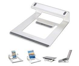 Aluminium Laptop Stand Bureau Dock Houder Beugel Koeler Cooling Pad voor MacBook Pro/Air/iPad/iPhone/Notebook/Tablet/PC/Smartphone SAMDI