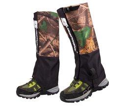 Outdoor Slobkousen Ski Producten 2 Stks/set 2 Lagen Waterdichte Camouflage Trekking Slobkousen voor Wandelen Jacht Camping Klimmen<br />  MyXL