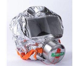 Brandtrap masker Emergency Kap Zuurstof gas maskers Ademhalingstoestellen 30 minuten Rook Giftig Filter Gas Masker met verpakking doos Escape masker <br />  CCGK
