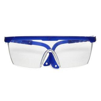 Beschermende Bril Blauw en Wit Kleur Veiligheidsbril Oogbescherming Werkplek Supplies <br />  Safurance