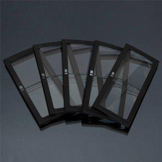 1.0-3.0 Dioptrie Lassen Vergrootglas Lens Cheater Lens Lasser Helm Glas Veiligheid Beschermende Goggles <br />  Safurance