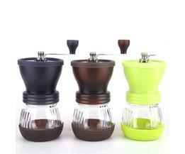 Handleiding Keramische Koffiemolen ABS Keramische core Rvs Burr grinder Keuken DIY Mini Manual Hand Koffiemolen <br />  MyXL