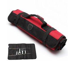 Opslag Houder Tassen Gereedschap Tas Tang Schroevendraaier Pocket Roll Bag/Case/Pouch 22 Zakken Handtas Tas <br />  JimBon