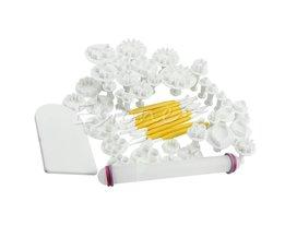 S-homeCake Decorating Fondant Icing Plunger Cutters Gereedschap Suiker Ambachtelijke 46 Stks Pack MAR6 <br />  MyXL