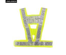 Security Jacket Veiligheid Vest Waarschuwing Voor Verkeer Reflecterende Vest Fluorescerende Gele Werkkleding Uniformen Outdoor Kleding <br />  jingleszcn