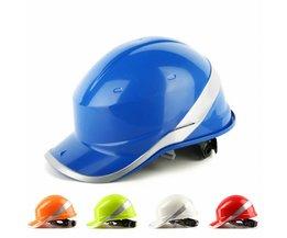 Veiligheid Harde Hoeden 8 Punt Bouw Werk Beschermende Helmen ABS Isolatie Materiaal Beschermen Helmen <br />  Safurance