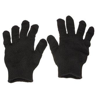 Rvs Draad Veiligheid Werk Anti-Slash Cut Statische Weerstand slijtvaste Beschermen Handschoenen Hand Veilig Security zwart <br />  Safurance