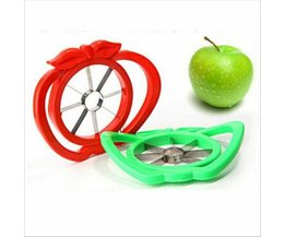 Fruit slicer Apple Peer cutter rvs mes corers remover Groente Meloen Chopper Peerler Verdeeld keuken koken Tool <br />  eTya