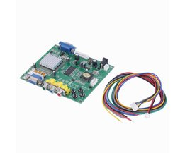 1 SetRGB CGA EGA YUV naar VGA HD Video Converter Board Moudle HD9800 HD-Converter Board GBS8200 niet-Afgeschermde Bescherming <br />  OXA