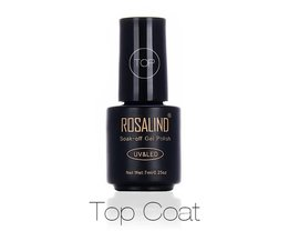 7 ML Professionele Top Coat Weken-off UV Gel langdurige Nail Art Nail Gel Polish Gel Nagellak Gel Varnish <br />  Rosalind