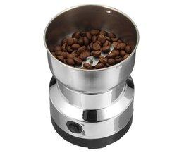 Elektrische Rvs Koffieboon Grinder Thuis Slijpen Freesmachine 220 V EU Plug Koffie Accessoires Keukengerei <br />  warmtoo