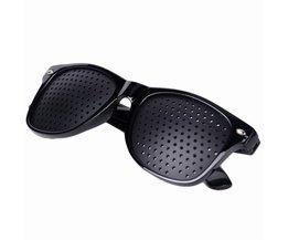 Vision Care Wearable Corrigerende Bril Verbeteraar Stenopeic Pinhole Pin Hole Glazen anti-vermoeidheid Oogbescherming Oculos De Grau <br />  NMEGOU