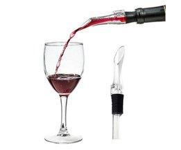 1 st Wijn Beluchten Tuit Decanter Beluchter Bar Accessoires Gereedschap Beluchter Draagbare Wijn Schenker Decanter GF257 <br />  EZLIFE