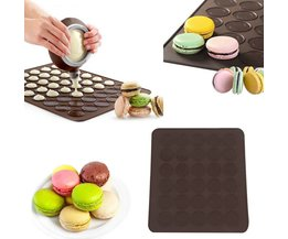 Praktische 30-cavity Siliconen Gebak Cake Macaron vorm DIY schimmel Oven Bakken gebak Mould Sheet Mat <br />  MyXL