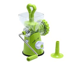 Multipurpose Huishoudelijke Vleesmolen Afneembare Handleiding Vleesmolen Groente Grinder Worstvulapparaat Keuken Tool <br />  MyXL