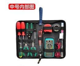 Professionele Elektriciens Hard Plate Kit Gereedschapstas Set Multifunctionele Kit Bag Handtas <br />  Jeafaroom