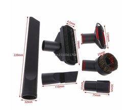 6 In 1 Stofzuiger Borstel Mondstuk Home Afstoffen Spleet Trap Tool Kit 32mm 35mm # C05 # <br />  MyXL