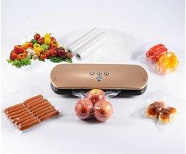 (5 Rolls/Lot) 20 cm x 500 cm Voedsel vacuüm sealmachine verpakking zak voedsel saving opslag film houden verse tot 6x langer <br />  KitchenBoss