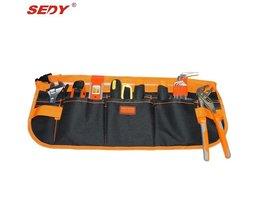 13 Pocket Multifunctionele Duurzaam Pouch Bouw tool tassen Multifunctionele elektricien tool pouch Carpenter Tool Riem kit Bag <br />  SEDY