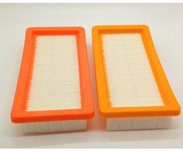 2 stks/partij Wasbare karcher filter voor DS5500, DS6000, DS5600, DS5800 robot stofzuiger Onderdelen Karcher 6.414-631.0 hepa filters <br />  MyXL