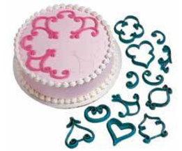 2016Koop Printing Schimmel Fondant Cake Decoratie 12 Stks/setMold Cookie Mold Bakken DIYTool Cake Tools A734  <br />  <br />  MyXL