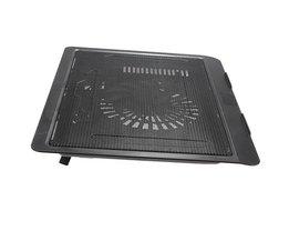 Hoge Qualtiy USB Notebook Cooler Cooling laptop koeler Pad 1 Grote Fans voor Laptop PC Base Computer Cooling Pad Versterken <br />  MyXL