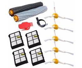 13 stks/partij wirwar puin extractor vervanging kit irobot roomba 800 900 series 870 880 980 vacuüm robots accessoire onderdelen <br />  MyXL