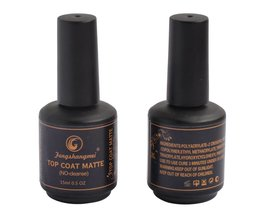 Fengshangmei matte nagellak top coat matt afwerking gel langdurige led uv matte top lak 15 ml <br />  fengshangmei