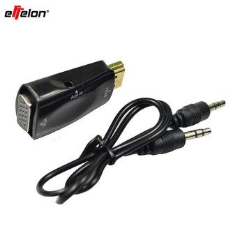 Effelon HDMI Male naar VGA HDMI naar VGA Video Converter adapter 1080 P voor PC <br />  effelon