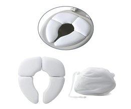 Draagbare Potje Stoel Pad Kussen Vouwen Kind Baby Toiletbril Zachte TrainingChild Toiletbril Kinderpotje Penico <br />  MyXL