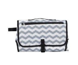 Baby Baby Draagbare Luier Pad Bag Travel Nappy Luier Aankleedkussen Pasgeboren Waterdichte Luier Clutch <br />  qianquhui
