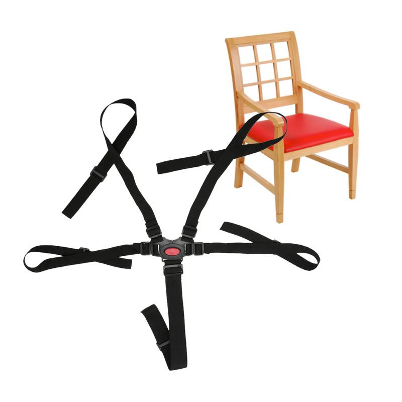 Hoge Stoel Kind.Baby Bescherming Seat Wandelwagen Riem 5 Punt Harnas Veilig Riem Zetel Voor Wandelwagen Hoge Stoel Kinderwagen Buggy Kinderen Kid Kinderwagen