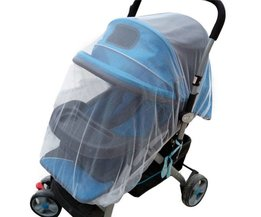 Outdoor Zuigeling Kids Kinderwagen Mosquito Insect Net Mesh Buggy Cover LL5 <br />  MyXL