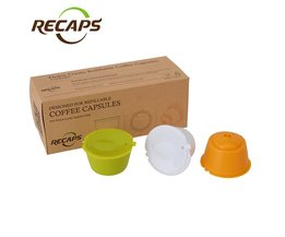 3 stks Dolce Gusto Capsules herbruikbare Hervulbare nescafe dolce gusto capsule cup cafeteira dolce gusto koffie capsule caps <br />  <br />  Recaps