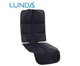 OXFORD Luxe Autostoel Protector, Kind of Baby Auto Seat Protector Mat, Bescherming Voor Autostoeltjes, zwart Lederen <br />  LUNDA