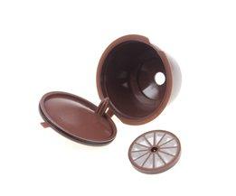 3 stks/pak gebruik 150 keer Hervulbare Dolce Gusto koffie Capsule nescafe dolce gusto herbruikbare capsule dolce gusto capsules <br />  OUOH