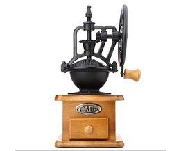 Retro Stijl Braam Koffiemolen Handleiding Hand Koffiezetapparaat Burr Maïs Molen Slijpmachines Hand-crank Roller Koffiemolen gereedschap <br />  GBhome