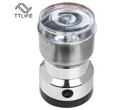 Elektrische Muilt-Functie Koffiemolen 200 W Huishouden Koffiemolen Semi-automatische Rvs Blade Extrusie Grinder <br />  TTLIFE