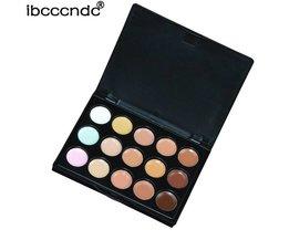 Ibcccndc Professionele 15 Kleuren Concealer Palet Contour Paletten Camouflage Gezicht Primer Cream Contouring Makeup Base Corrector <br />  ibcccndc